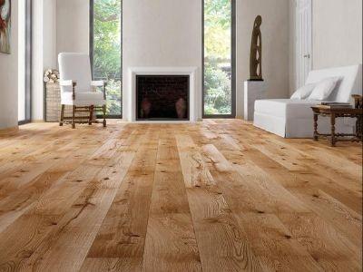 Podloga drewniana rustyklana