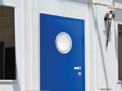 Drzwi laminowane do obiektów użyteczności publicznej