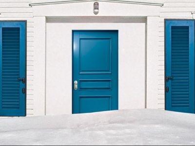Drzwi antywłamaniowe do mieszkań malowane