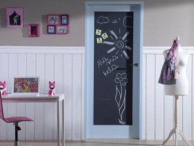 Drzwi wewnętrzne z tablicą do rysowania Happy