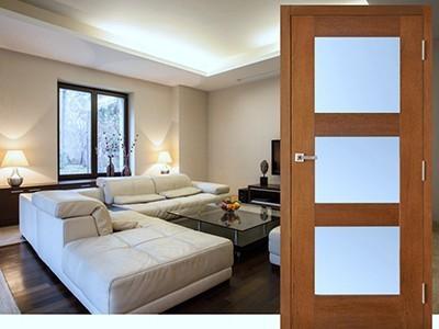 Drzwi wewnętrzne fornirowane Dalie 1