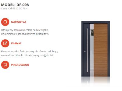 Drzwi zewnętrzne KMW w promocyjnej cenie