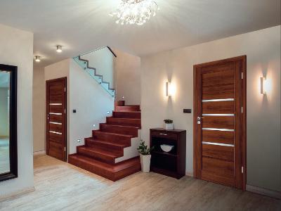 Drzwi wewnętrzne w okleinie drewnopodobnej Nicea W-2