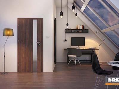 Drzwi wewnętrzne w okleinie sztucznej VETRO