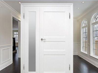 Drzwi wewnętrzne ze świetlikami D-4