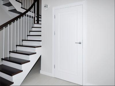Drzwi wewnętrzne białe Simple