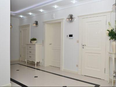 Drzwi wewnętrzne lakierowane białe Korona