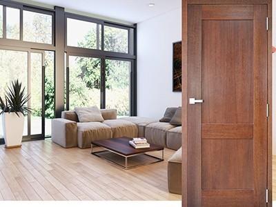 Drzwi wewnętrzne fornirowane Classic 1