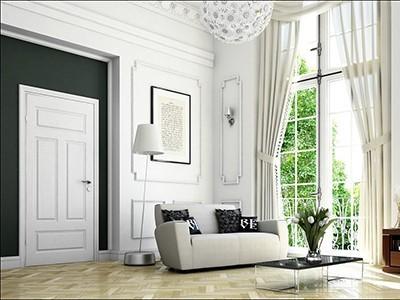 Drzwi wewnętrzne malowane Fiordd