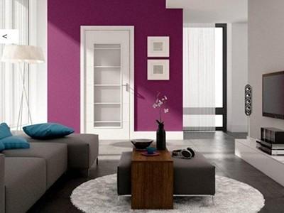 Drzwi wewnętrzne malowane Simple