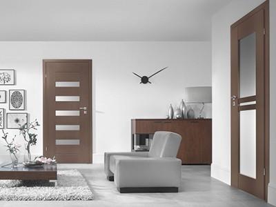 Drzwi wewnętrzne fornirowane Sempre-lux