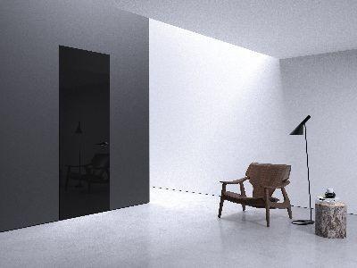 Drzwi wewnętrzne Future czarne Entra
