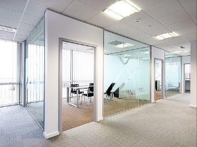 Przegrody biurowe konstrukcja aluminiowa