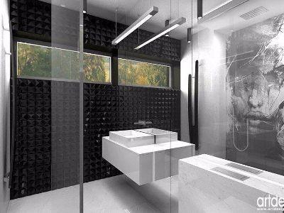 Szklana zabudowa w łazience