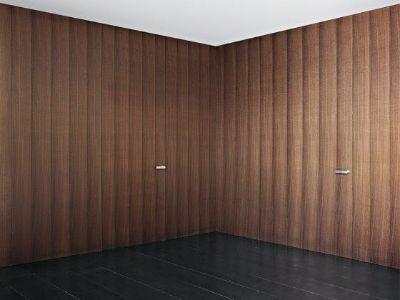 Zabudowa ściany z drzwiami ukrytymi