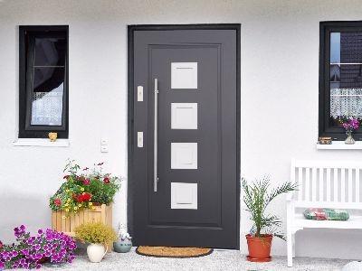 Drzwi zewnętrzne stalowe plus Perfekt 1