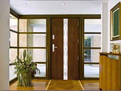 Drzwi zewnętrzne stalowe tłoczenie 11S