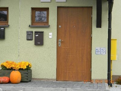 Drzwi zewnętrzne antywłamaniowe Premium słonko