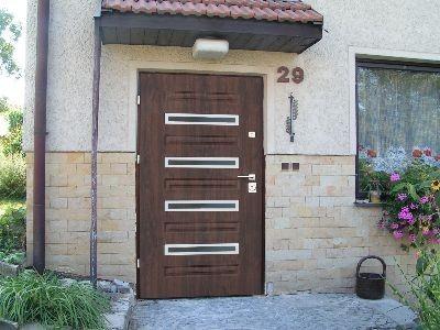 Drzwi zewnętrzne stalowe Trento M4