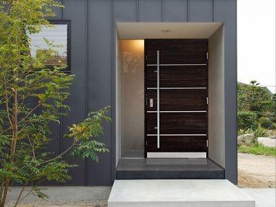 Drzwi zewnętrzne stalowe pasywne 415