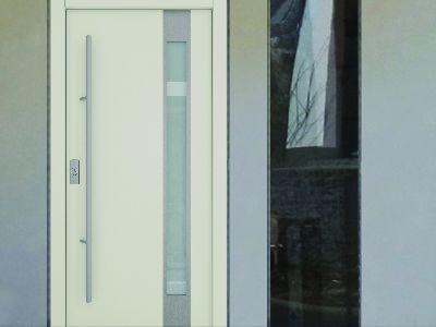 Drzwi zewnętrzne stalowe pasywne M34