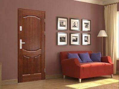Drzwi zewnętrzne drewniane D-1