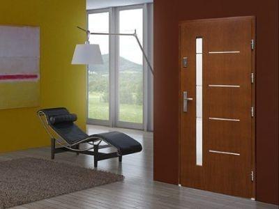 Drzwi zewnętrzne płytowe DPI-8