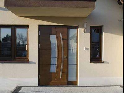 Drzwi zewnętrzne płycinowe TOP Design P8