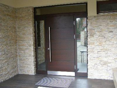 Drzwi zewnętrzne płycinowe TOP Design P11