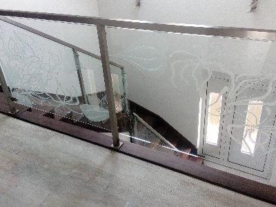 Balustrada ze szkła